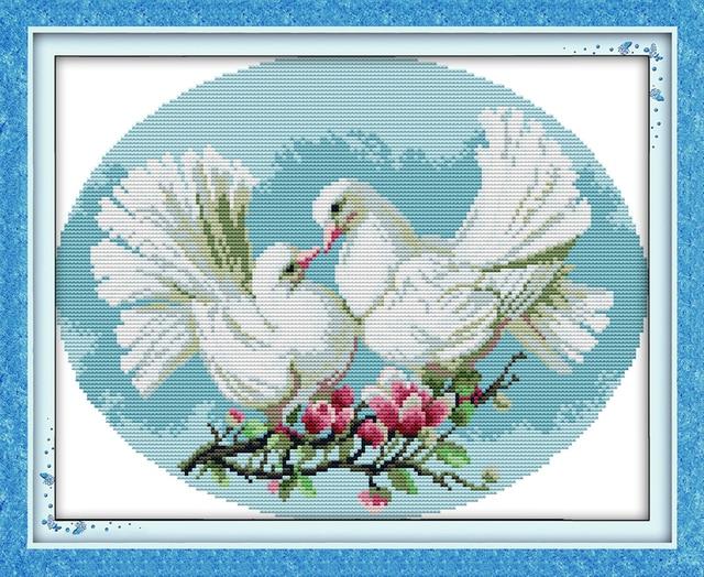 Pigeon Lover Cross Stitch