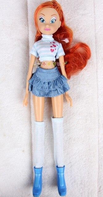 Arco Figuras Bloom Muñecas Muñeca Niñas Chica Juguetes Winx Club Para Iris Acción Clásico De Regalo Colorido HE9ID2