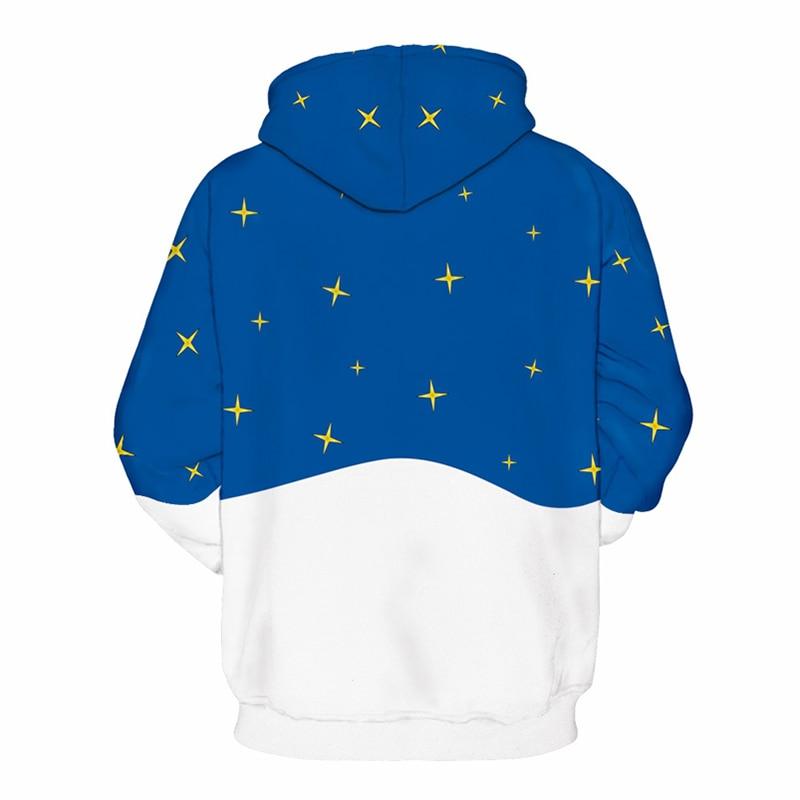 374f00ee981e Blue Hoodies Sweatshirts Men Unisex Hoody Print Merry Christmas Celebration 3d  Hoodies Hip Hop Hooded Tracksuit Pullover 6XL