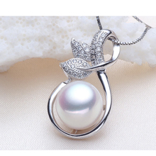 Unbelievable price 100% real natural pearl necklace 925 sterling silver jewelry, pearl necklace for women 10-11mm(China (Mainland))