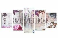 ZOOYA 5D DIY Diamond Embroidery Home Sweet Home Diamond Painting Cross Stitch Full Round Rhinestone Mosaic