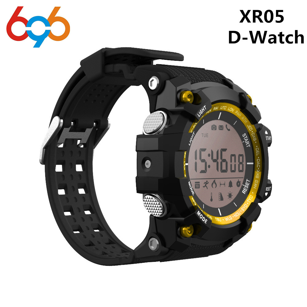 XR05 Smart Watch D-Watch Bluetooth IP68 Waterproof Watches Jogging Ultraviolet Altitude Air Pressure For Android&IOS phone