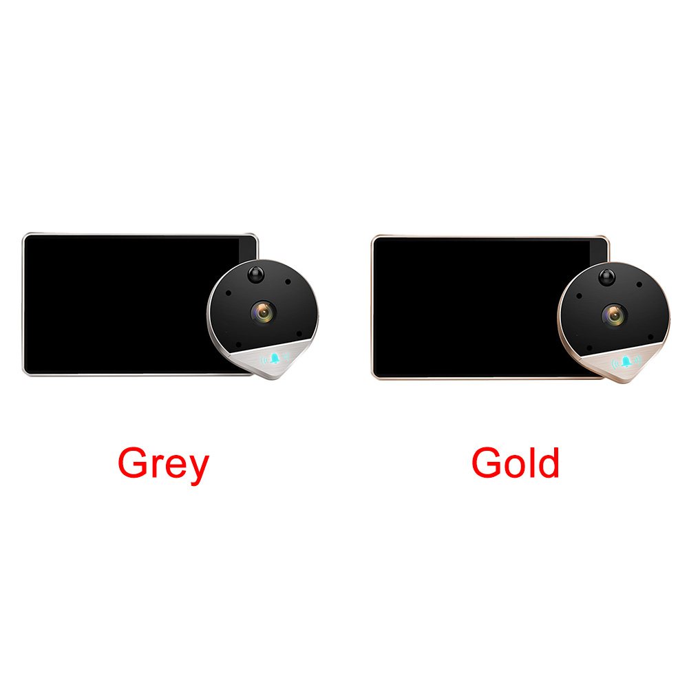 Image 3 - Visual Night Vision Remote Monitoring Peephole Electronic Video Anti theft WIFI Wireless Doorbell Intercom Smart Wide Angle-in Doorbell from Security & Protection