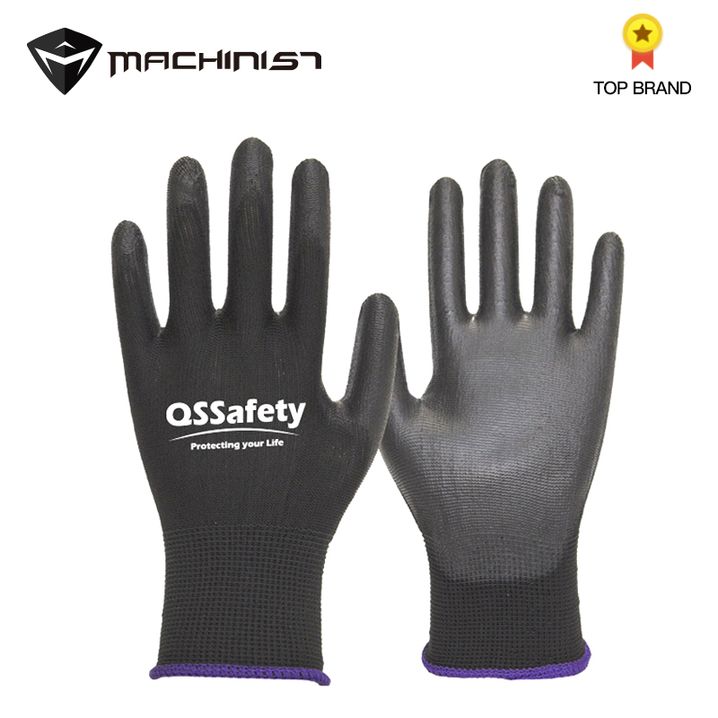 1pair Dipping Plastic Rubber Gloves Auto Car Mechanical Repairing Gloves Waterproof Oil-proof Wear-resistant PU Glove