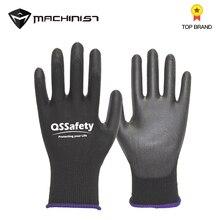1 paar Tauch Kunststoff Gummi Handschuhe Auto Auto Mechanische Reparatur Handschuhe Wasserdicht Öl-beweis Verschleiß-beständig PU Handschuh