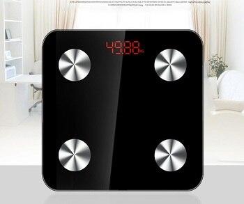 Тонкий! 25 Body Data бытовые умные весы для ванной, весы для пола, электронные цифровые весы для тела и жира, Mi весы PK Yunmai