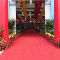 2 millimetri Usa E Getta Tappeto Rosso Runner 5x1 m Grande Rosso Corridoio Tappeto Pavimento Corridore di Nozze Di Compleanno Partito Hollywood decorazione Prop