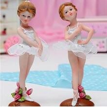 Балетный танец Ангел девушка украшения ремесла домашний офис