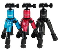 CAMBOFOTO M225 CK30 Mini Tripod For Camera Video Flexible Tripodes Para Camaras Professional With Ball Head