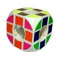 Mais novo 3-camadas Oco Arco Pão Jogo Do Enigma Velocidade Cubo Magico Cubo Mágico Em Forma Suave Kid Criança Educacional Brinquedo-Presente 48
