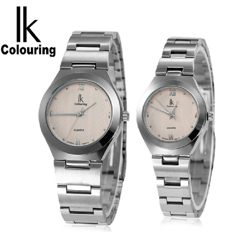 Ik for vintage quartz watch lovers table circle women s watch commercial men s watch 98030g