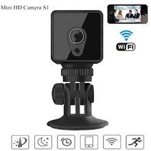 цена на S1 Mini wifi Camera 1080P HD micro Cam 5 hours long lasting Night Vision DVR motion detection Remote Control Car Cam sq11 sq13