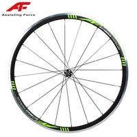 NEW AF alloy super light clincher wheels only 1500g aero spokes straight pull hub 700C ultra light aluminum road bike wheels
