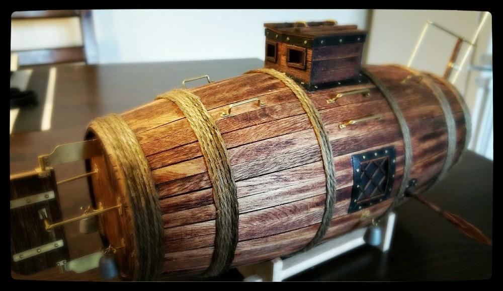 wood ship kit Wood Boats Model Submarine wood model kit Vyacheslav Nikonov 1718 wood russian submarine