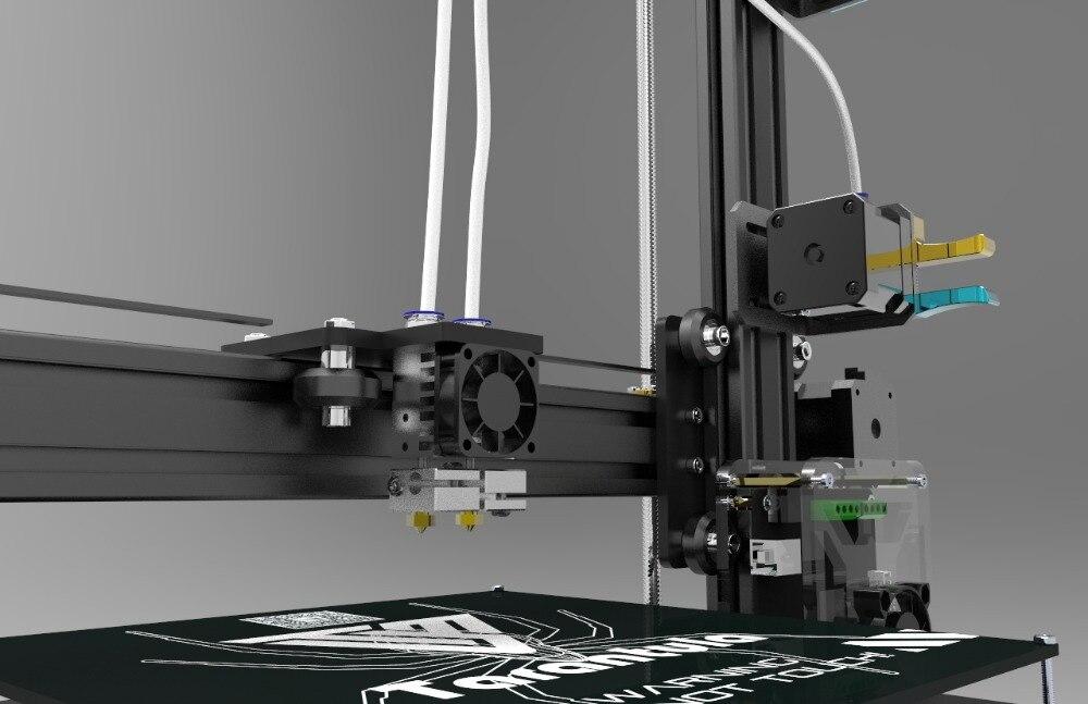 200*280*200 Large MK3 auto leveling Dual Extruder TEVO Tarantula I3 Aluminium Extrusion 3D Printer kit printer 3D