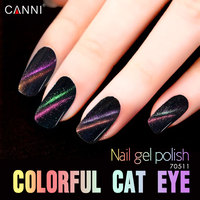 CANNI Caméléon Cat Eye Gel En Vrac Paquet Vernis À Ongles 1000 ml Soak Off UV Gel Aimant Stylo Nail Gel Polish
