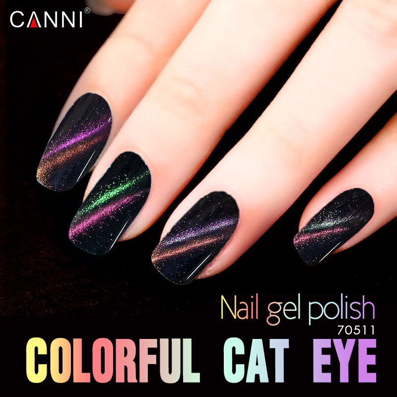 CANNI Chameleon Cat Eye Gel Bulk Package Nail Polish 1000ml Soak Off UV Gel Magnet Pen Nail Gel Polish elite99 29pcs set not moving cat eye gel 3d long stay cat eye effect nail gel polsih 10ml soak off uv gel lacquer semi permanent