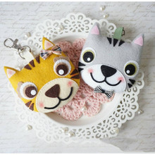 YaMinSanNiO 1 Pcs/lot Metal Cutting Dies Scrapbooking for Card Making DIY Embossing Cuts New Craft Little Tiger Fox Animal
