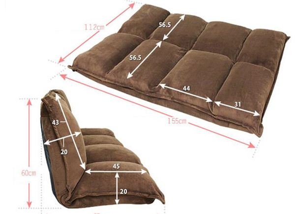 Furniture Reclining Japanese Futon Sofa Bed Modern Folding