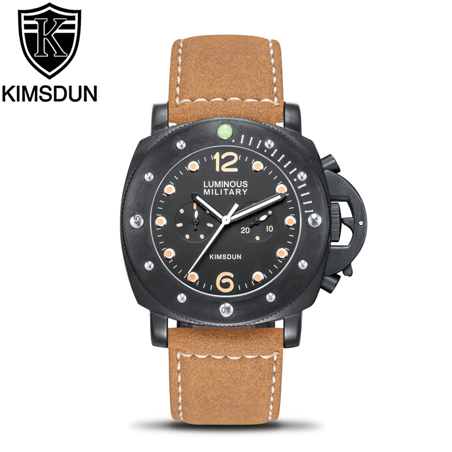 Men's Watch Luxury Fashion Military Casual Sports Men Watches Multifunation Automatic Mechanical Wristwatches Relogio Montre(China)