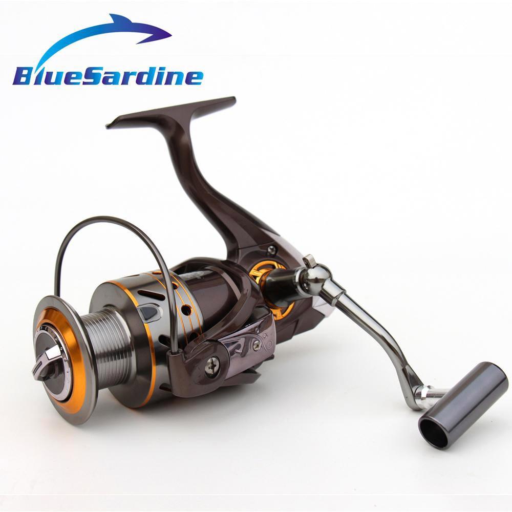 BlueSardine 12 + 1 BB 5.2: 1 Pilnmetāla makšķerēšanas spoles - Makšķerēšana