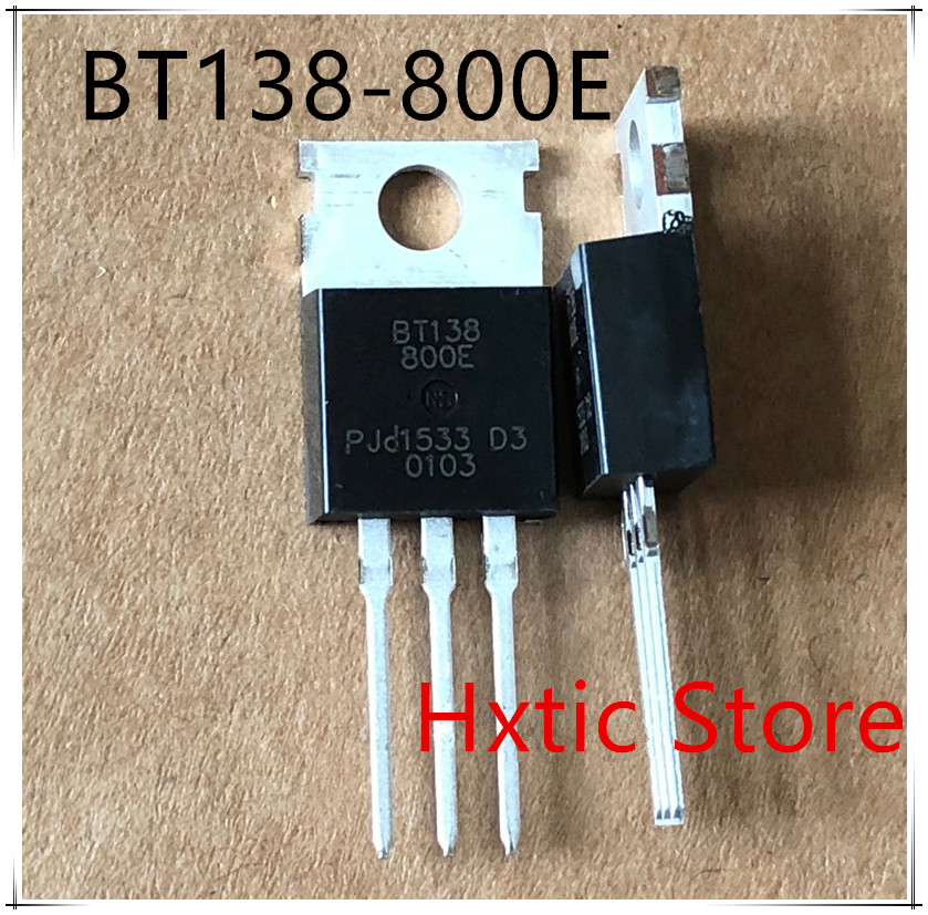 10PCS BT138-800E BT138-800 TO220 TO-220 BT138 New Original