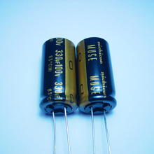 10pcs/20pcs The original nichicon 330uf/100v 18*36 MUSE KZ audio super capacitor electrolytic capacitors free shipping цены