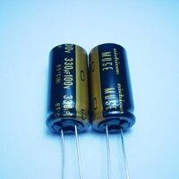 10pcs/20pcs The original nichicon 330uf/100v 18*36 MUSE KZ audio super capacitor electrolytic capacitors free shipping