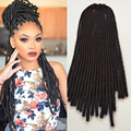 "18""/20roots/100g Faux Locs Crochet Braids hair 5 Colors Twist Crochet Hair Extensions Top Quality Braiding Hair For Black Women"