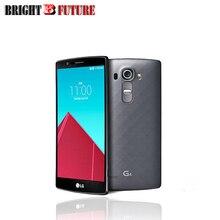 "Original LG G4 H815 international version Mobile Phone 5.5"" 2560*1440 snapdragon 808 3GB RAM 32GB ROM 8MP 16MP Camera 4G LTE"