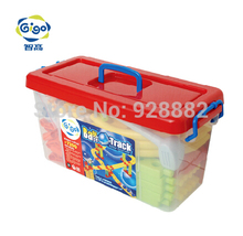 GIGO Safety and Environmental Plastic Blocks HAPPY ORBIT GROUP(S) 74PCS 18 Models #7350 Toy for Ages 3 and up