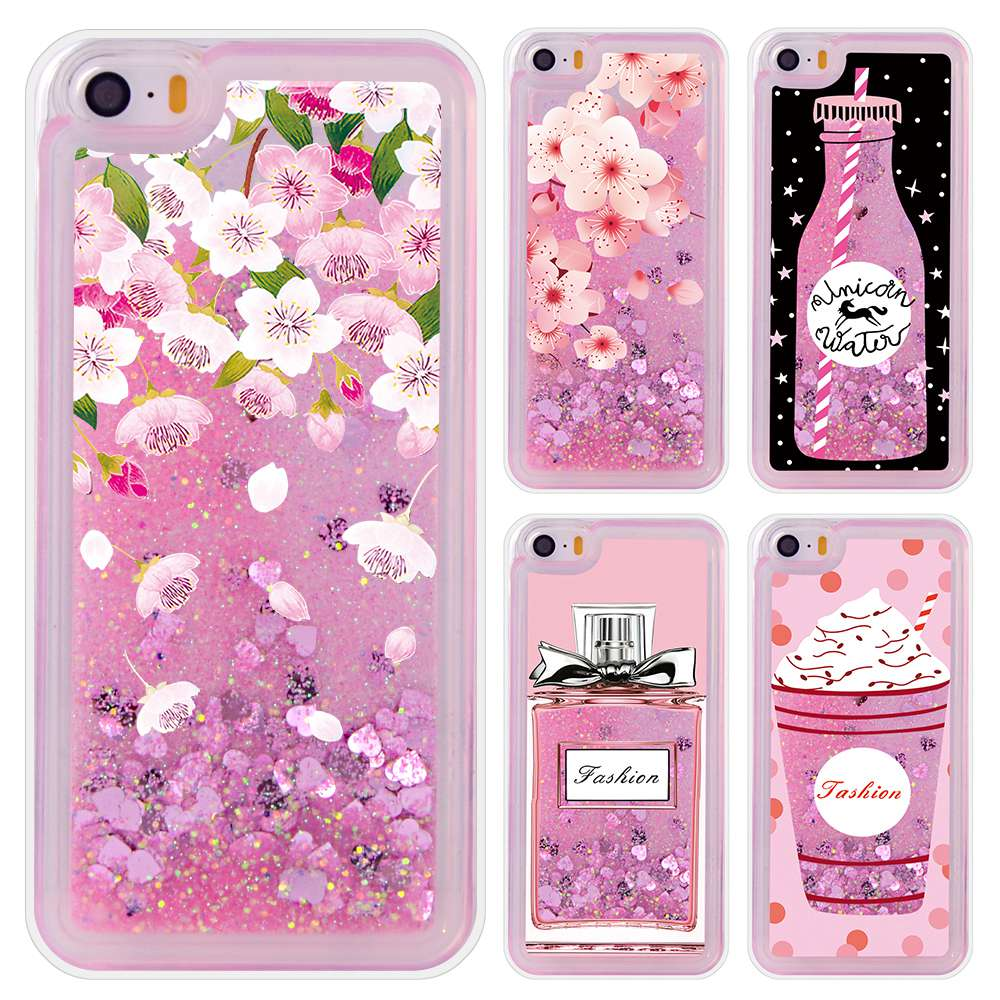 release date: 6f4b2 32b3b Luxury Liquid Quicksand Glitter Iphone 5S Case Silicone Shell For Iphone SE  Apple Iphone 5 Case Cover