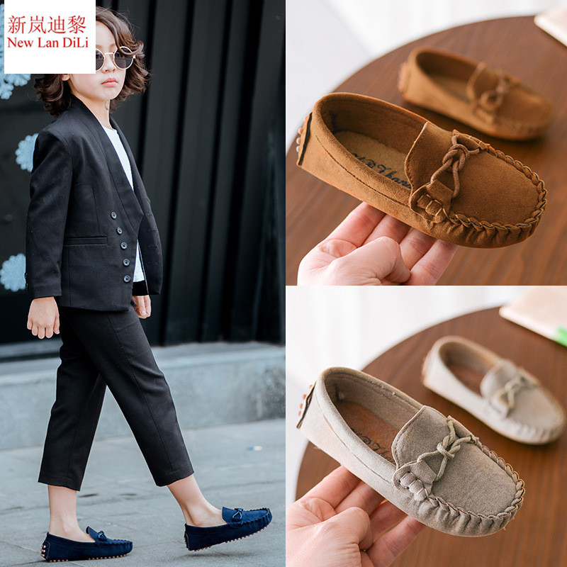Size 21-35 Baby Toddler Shoes New Spring Summer Children Soft PU Leather Casual Shoes Boys Loafers Girls Moccasins Shoes mhyons 2018 new children s soft bottom toddler shoes boys and girls casual shoes garden shoes solid color breathable casual shoe