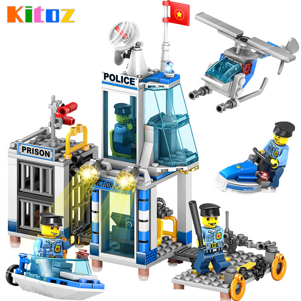 Kitoz City Police Station Prison Island Building Block ...