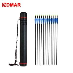 Image 5 - DMAR ใหม่ Multifunction ปรับ Bow Arrow Quiver Archery เครื่องมือ 63 105 ซม.หลอดไหล่กระเป๋าอุปกรณ์ล่าสัตว์