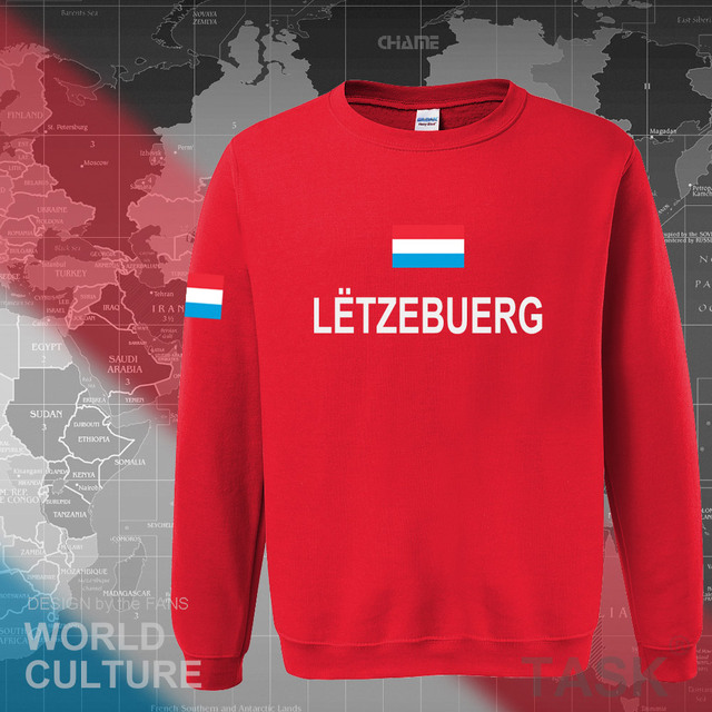 Luxembourg Luxembourger hoodies men sweatshirt sweat new hip hop streetwear clothing sporting tracksuit nation LUX Luxemburg 4