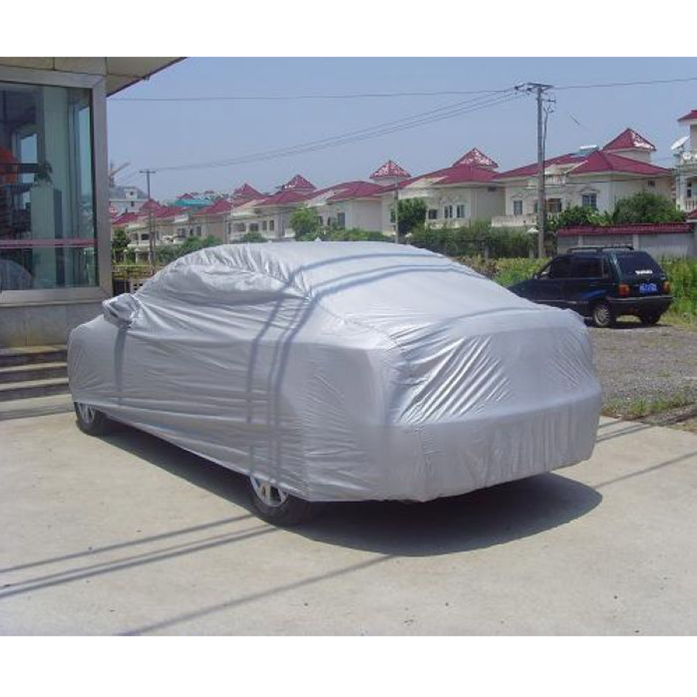 Waterproof Car Covers Outdoor Sun Protection Cover Sunscreen Heat Protection Dustproof Anti-UV Scratch-Resistant Sedan