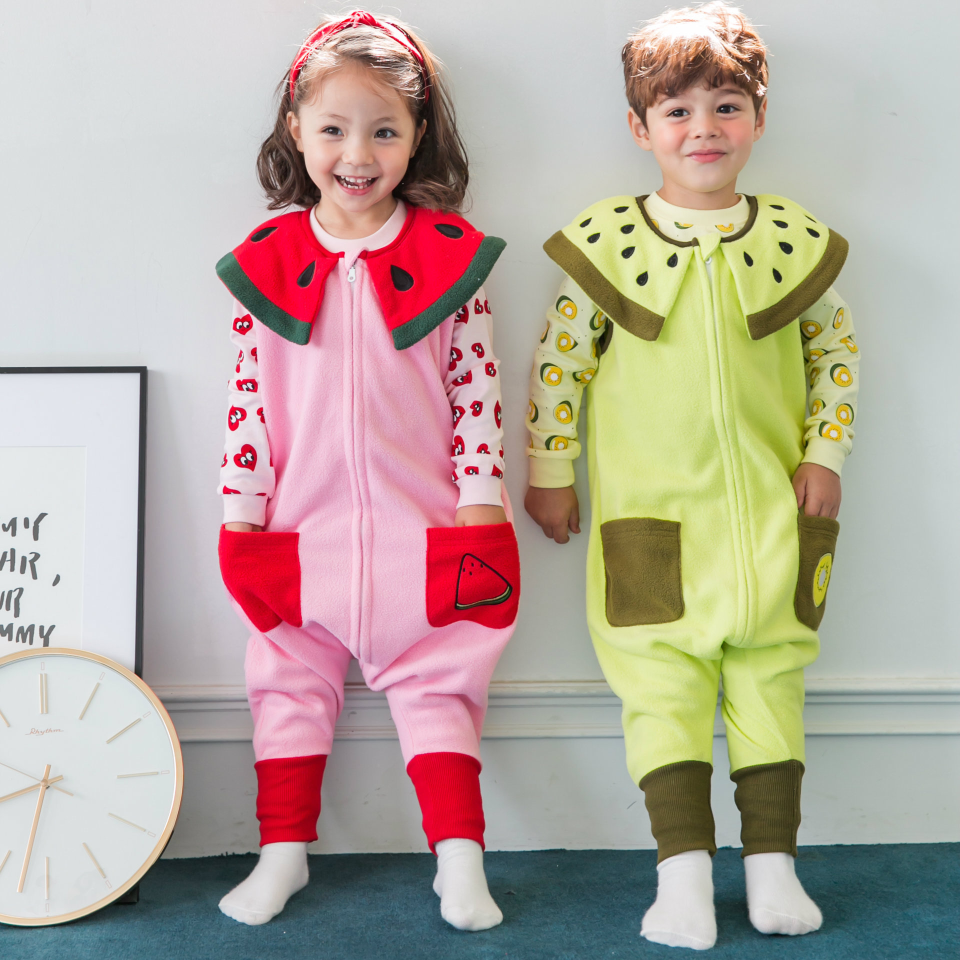Children Clothing 2018 Autumn Dresses Girls Baby Pajamas