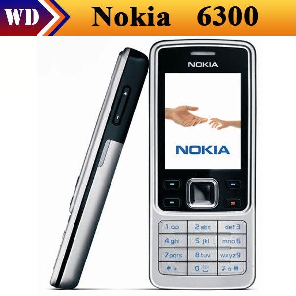 original nokia 6300 bluetooth mp3 java mobile phone free shipping rh aliexpress com Nokia 6600 Nokia 6210