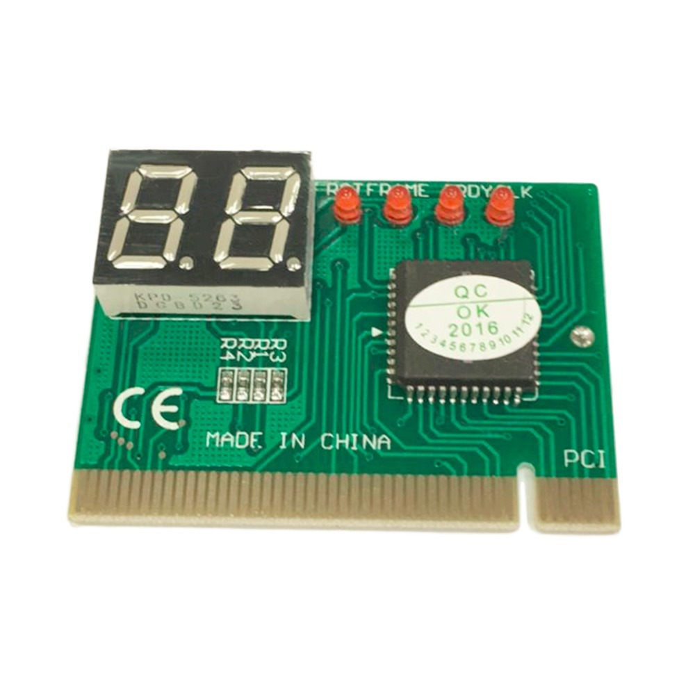 High Quality PC PCI Diagnostic Card Motherboard Analyzer Tester Post Analyzer Checker