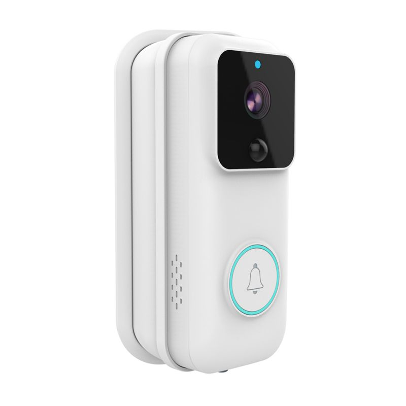 Smart WiFi Door Bell 1080P HD Visible Security Camera Talk-back Remote Control Doors Sensor With PIR Detection
