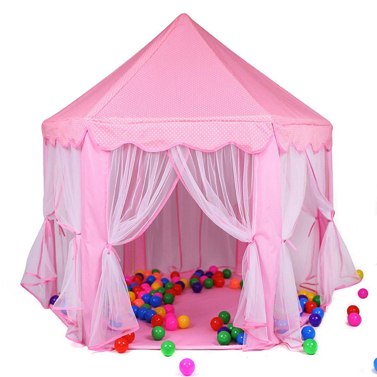Dalosdream Prinzessin Baby Zimmer Kinder Zelt Burg Spielzelt ...