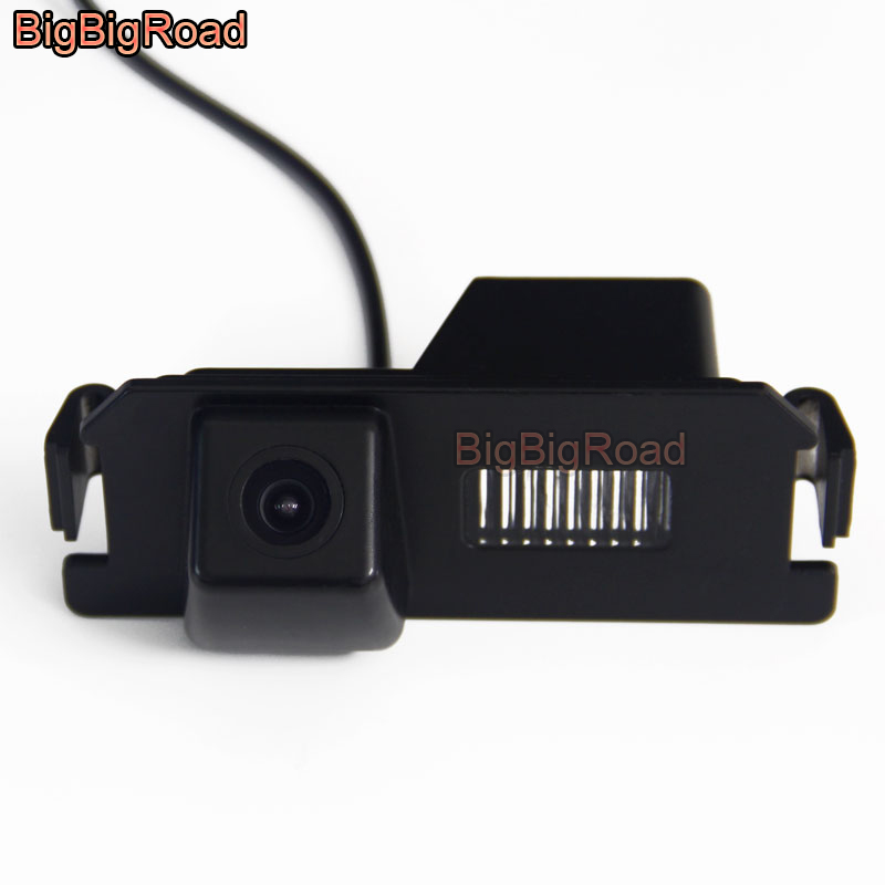 BigBigRoad Car Rear View Parking Camera For KIA Picanto Morning (TA) 2011 2012 2013 2014 2015 2016 2017 Night Vision Waterproof