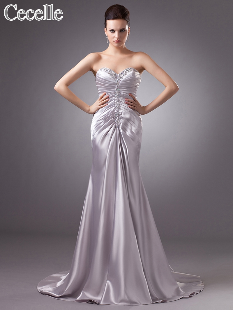 2017 real silver informal reception wedding dresses for Winter wedding dresses for sale