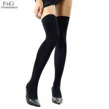 Новый Чулки для женщин 2017 по Гольфы высокие носки тоньше Для женщин Носки для девочек Medias чулок осень-зима цвет: черный, синий чулок