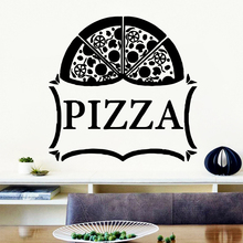 Removable Pizza Vinyl Kitchen Wall Stickers Wallpaper For Kids Room Living Room Home Decor Art Decal family house rules stickers wall decal removable art vinyl decor home kids nive
