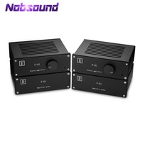 Nobsound Hi end Hi Fi Class A Mono Block Power Amplifiers Stereo Quad series Independent Power Supply Independent Power Amp
