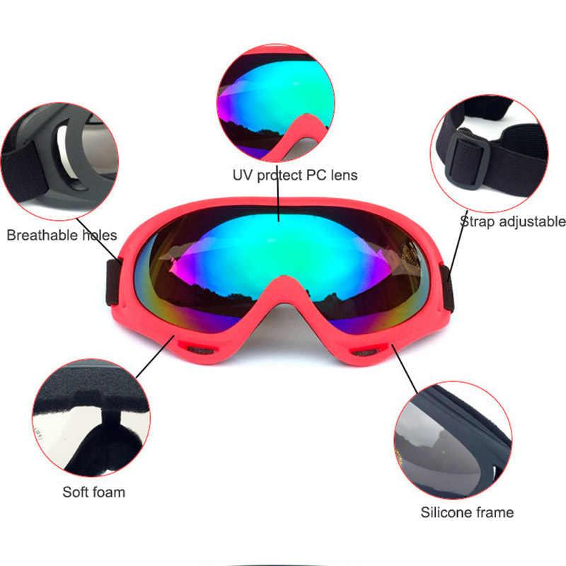 Профессиональные детские зимние лыжные очки, очки для лыж и сноуборда, солнцезащитные очки, спортивное оборудование для детей, мужчин и женщин