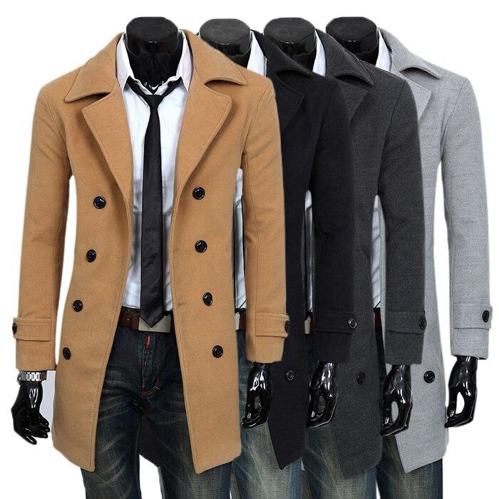 0118bdeda8 2014 new winter coat Slim Korean men s business casual men s windbreaker coat  men windbreaker jacket