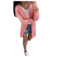 Women S New Fashion Cardigan Female Knitted Jumper Autumn Sweater For Female Casual Long Sleeve Ladies